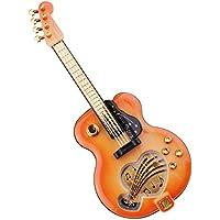 B Baosity 創造的 ギター モデル オルゴール 音楽ボックス 装飾 おもちゃ プレゼント 高品質 使用便利