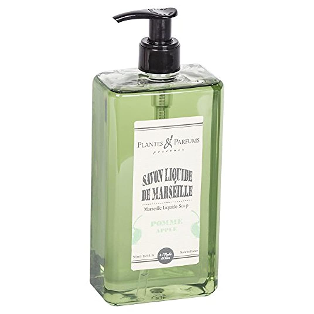 スローガン一握りすりPlantes&Parfums [プランツ&パルファム] マルセイユリキッドソープ アップル