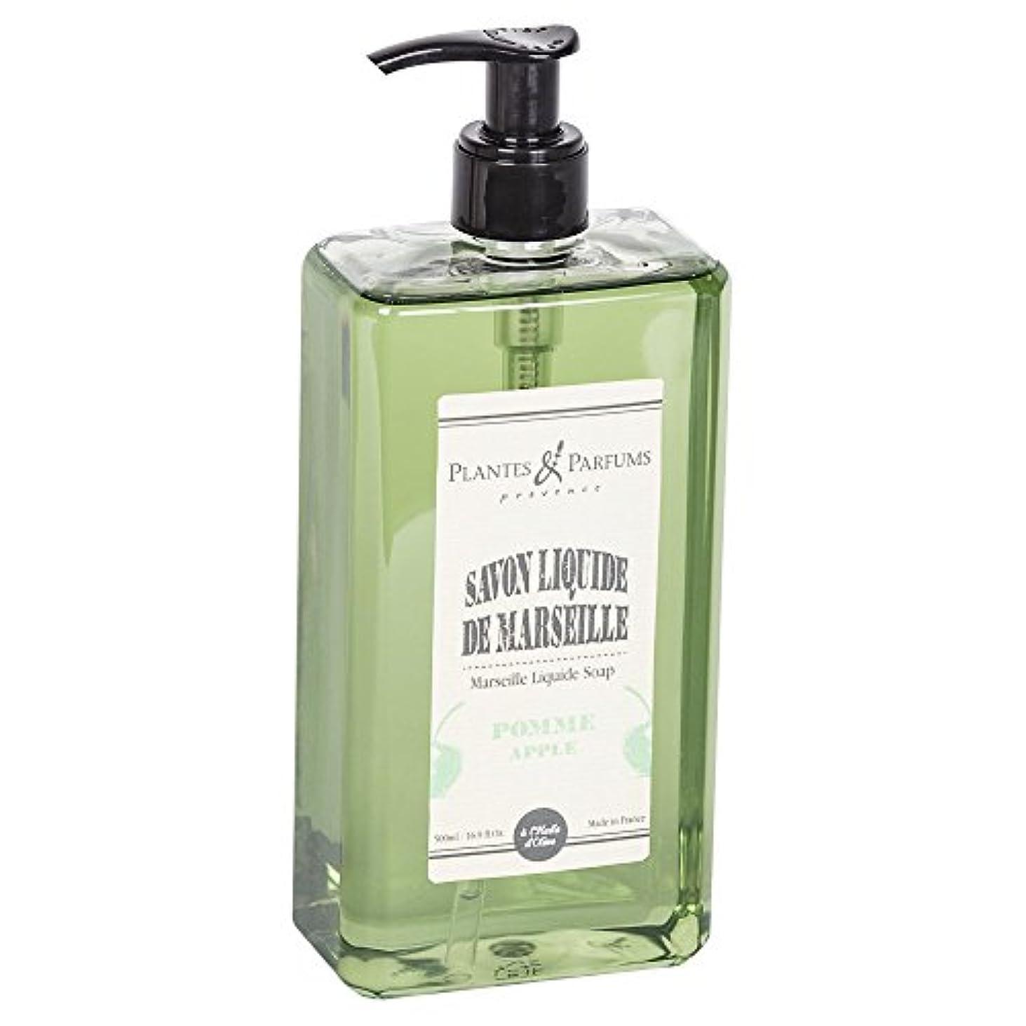 を必要としていますスリッパ急勾配のPlantes&Parfums [プランツ&パルファム] マルセイユリキッドソープ アップル