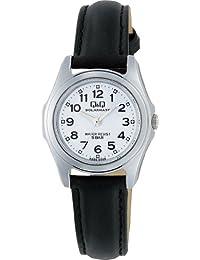 [シチズン キューアンドキュー]CITIZEN Q&Q 腕時計 SOLARMATE (ソーラーメイト) ソーラー電源 アナログ表示 5気圧防水 ホワイト H009-304 レディース