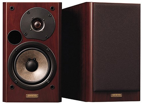 [해외]ONKYO INTEC205 스피커 시스템 (2 개 1 세트) 나뭇결 D-102EXG/ONKYO INTEC 205 speaker system (1 set of 2) wood grain D-102 EXG