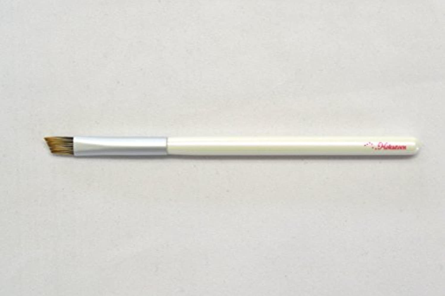 川パンダ噴出する熊野筆 北斗園 Kシリーズ アイブロウブラシ(白銀)