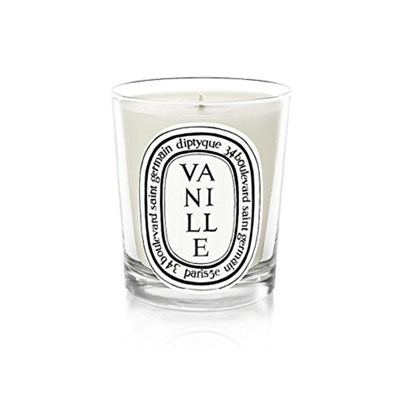 セラー斧維持Diptyque Candle Vanille 190g (Pack of 2) - Diptyqueキャンドルバニラ190グラム (x2) [並行輸入品]