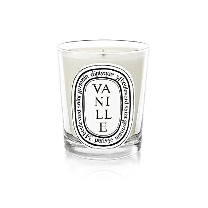 Diptyque Candle Vanille 70g (Pack of 6) - Diptyqueキャンドルバニラの70グラム (x6) [並行輸入品]