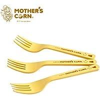 Mother's Corn キューティフォーク3本セット / ベビー食器 [並行輸入品]