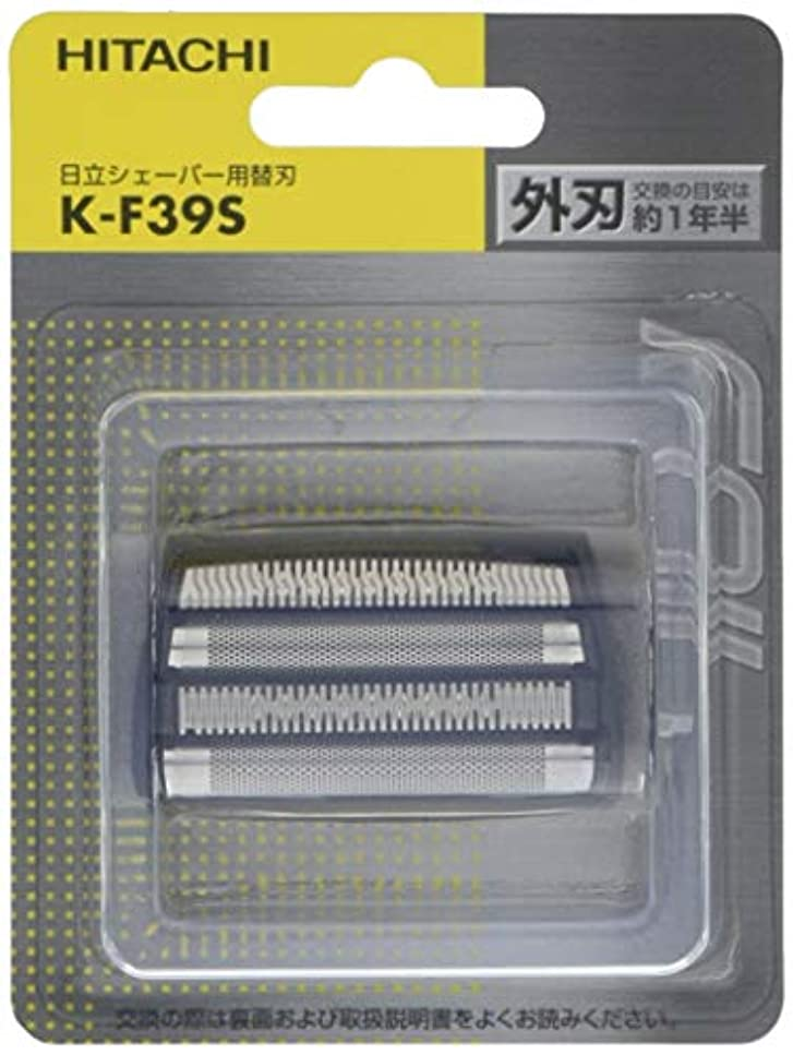 凍結伝染病甘い日立 メンズシェーバー用替刃(外刃) K-F39S