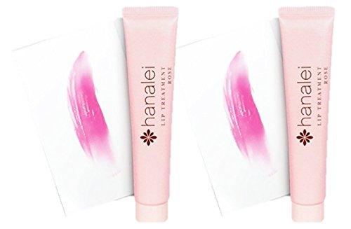 2本セット Hanalei(ハナレイ) リップトリートメント 15mL (ローズ)Lip Treatment (Rose)