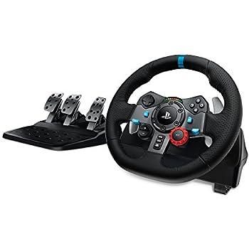 Logicool G ステアリングコントローラー LPRC-15000 ブラック PC ハンドル ドライビングフォース PS4 PS3 G29 国内正規品 2年間メーカー保証