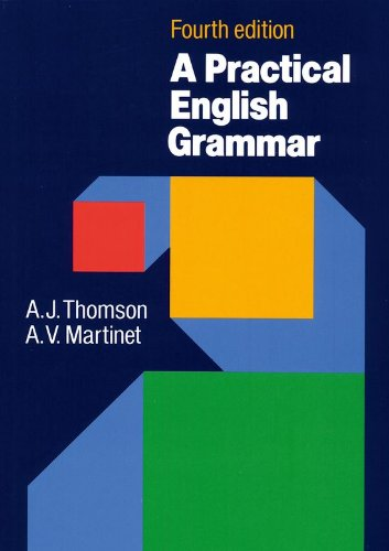 『A Practical English Grammar』のトップ画像