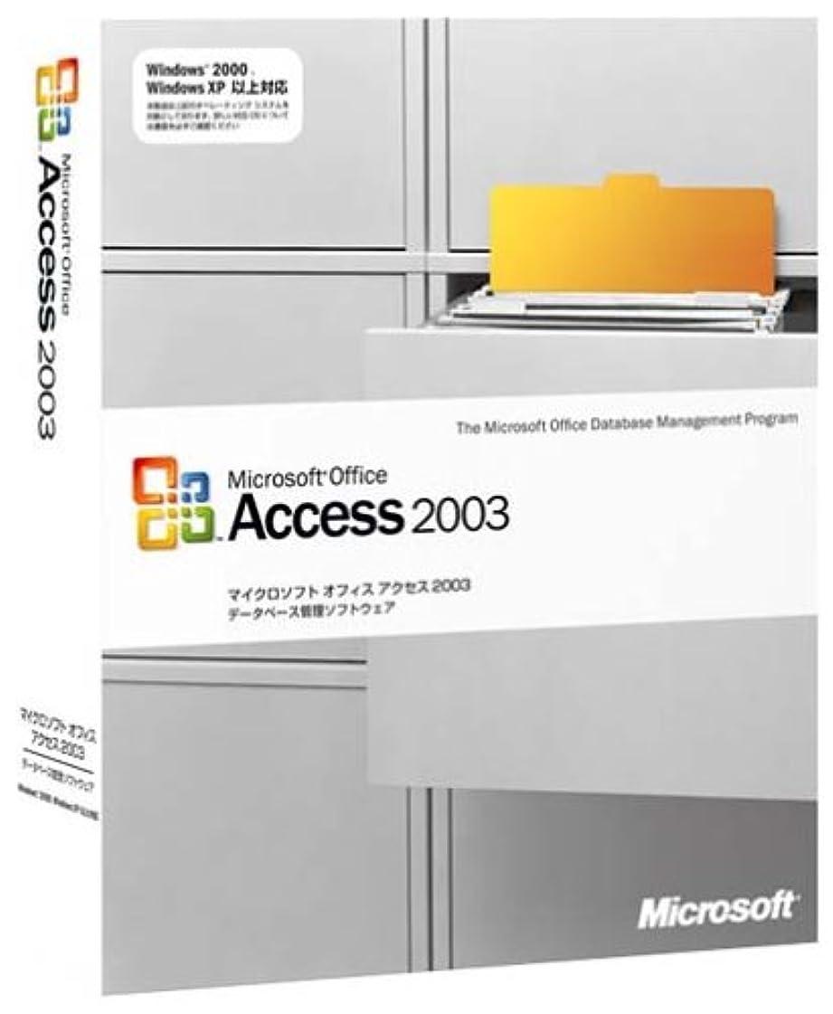 穿孔する民主主義道を作る【旧商品/サポート終了】Microsoft Office Access 2003