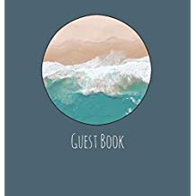 Guest Book, Guests Comments, Visitors Book, Vacation Home Guest Book, Beach House Guest Book, Comments Book, Visitor Book, Nautical Guest Book, ... Centres, Family Holiday Guest Book (Hardback)