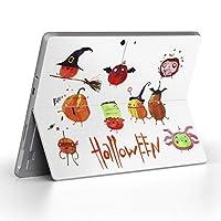 Surface go 専用スキンシール サーフェス go ノートブック ノートパソコン カバー ケース フィルム ステッカー アクセサリー 保護 ハロウィン かぼちゃ halloween 014767