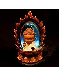 PHILOGOD 樹脂逆流香 パーソナリティスタイリング仏壇用香炉/香立て お香 ホルダー ホームデコレーション