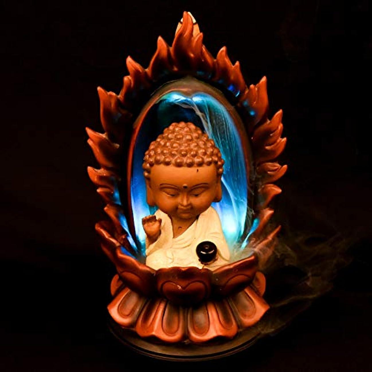 絶望的な消去うんPHILOGOD 樹脂逆流香 パーソナリティスタイリング仏壇用香炉/香立て お香 ホルダー ホームデコレーション