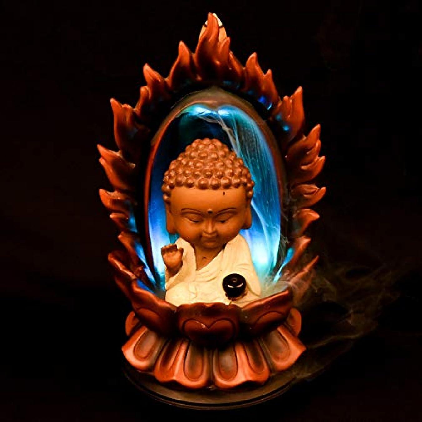中国平方満州PHILOGOD 樹脂逆流香 パーソナリティスタイリング仏壇用香炉/香立て お香 ホルダー ホームデコレーション