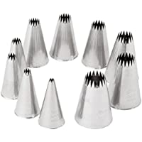 Ateco 870 - French Star Pastry Tips Set (860-869) by Ateco