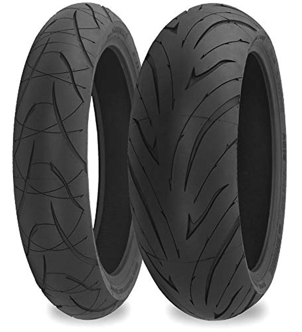 コンセンサス電話なぞらえるShinko 016 Verge 2X Front Tire - 120/70ZR17, Position: Front, Tire Size: 120/70-17, Rim Size: 17, Load Rating: 58, Speed Rating: W, Tire Type: Street, Tire Application: Sport 87-4084 by Shinko