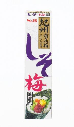 S&B しそ梅(無着色) 40g×10個