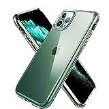 iPhone 11 Pro MAX ケース 6.5インチ クリア全透明 薄型 耐衝撃 カメラ保護 衝撃吸収 ワイヤレス充電対応 超耐磨 軽量 黄変防止 おしゃれ 指紋防止
