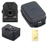 【愛曲クロス付】【外部バッテリーケース/BCQ-2n+汎用型ソフトシェルケース/SCU-20付】ZOOM ズーム Q2n-4K ミュージシャンのための4Kカメラ Handy Video Recorder ハンディビデオレコーダー
