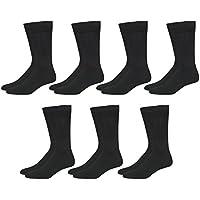 Van Heusen Men's 7-Pack Athletic Reinforced Mid Calf Socks