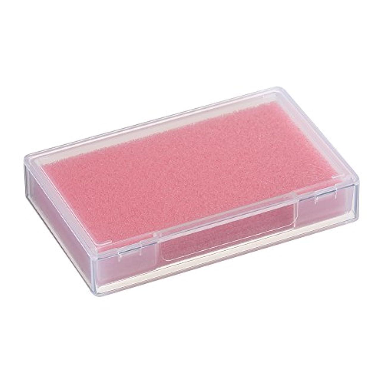 裁量いろいろ電極ネイルチップケース ピンク