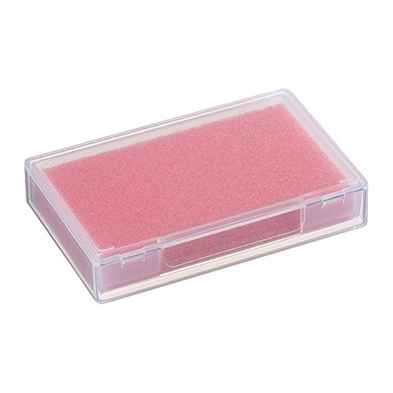 幅水ブリーフケースネイルチップケース ピンク