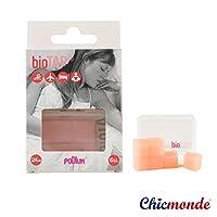 bioTAPヨーロッパ輸入品 ソフトシリコン耳栓 騷音低減 ソフトシリコン 睡眠いびき対策 防水(ピンク)