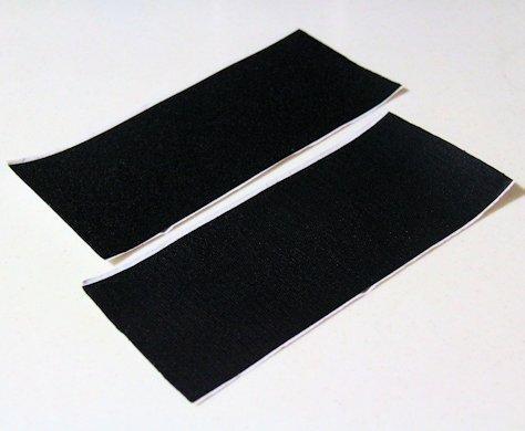 【10cm×25cm 】幅広タイプ 面ファスナー (黒) オ...