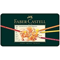 ファーバーカステル ポリクロモス色鉛筆セット 120色 缶入 110011 [日本正規品]