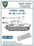 フリウルモデル 1/35 金属可動履帯 レーヴェ/ベア/VK72.01K 金属パーツ ATL-154