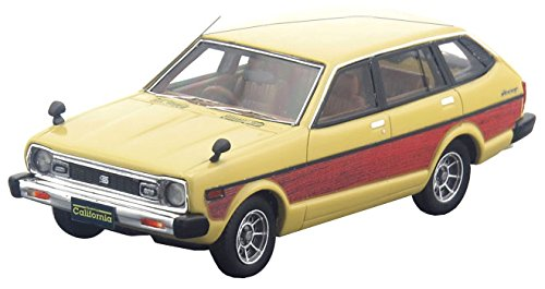 Hi Story 1/43 NISSAN SUNNY CALIFORNIA 1400SGL (1979) イエロー/ウッド 完成品の詳細を見る