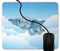 マウスパッド 動物, 疲労低減 ワイヤレスマウスパッド 耐久性が良い 滑り止めゴム底 滑りやすい表面 マウス用パット 1D2008
