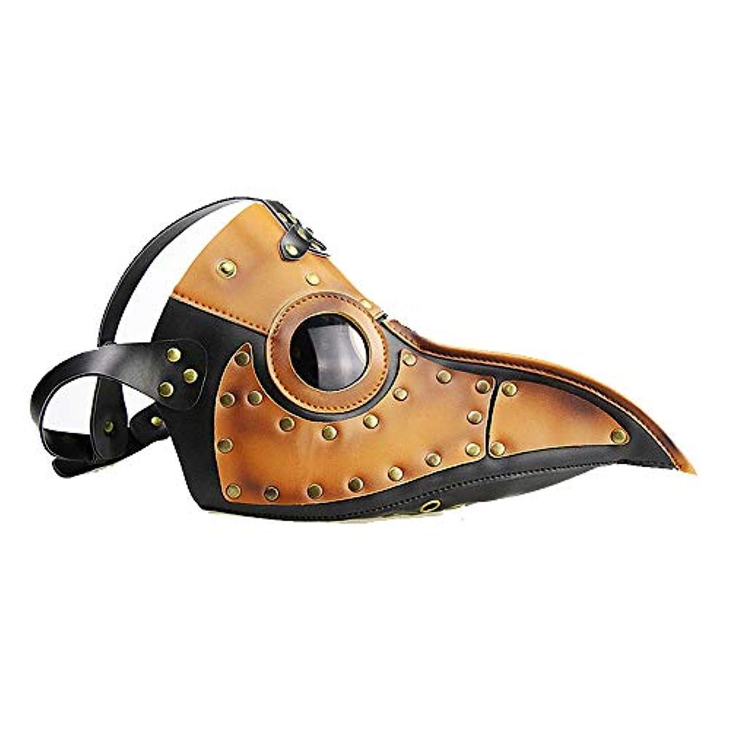 野生出費疑いスチームパンクペストビークマスクハロウィン小道具