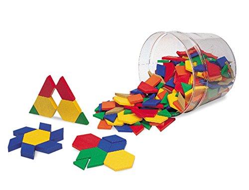 パターンブロック(プラスチック製:250個セット) -