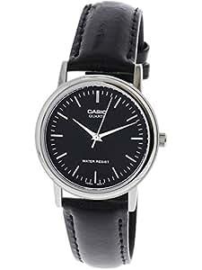 CASIO カシオ MTP-1095E-1A MTP1095E-1A ベーシック アナログ ブラック シルバー メンズウォッチ 腕時計 [並行輸入品]
