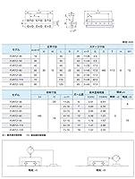 ZIVI クロスローラーテーブル クロスローラウェイ LVRT形ベースタップタイプ LVRT2-80