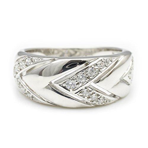 [ココカル]cococaru ダイヤモンド リング プラチナ Pt900 指輪 ピンキーリング 天然 ダイヤ 日本製