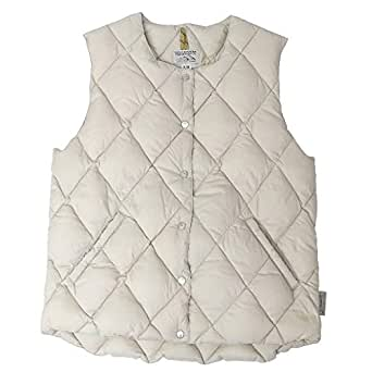 (ロッキーマウンテンフェザーベッド) Rocky Mountain Featherbed『Women's Six Month Vest』(L.BEIGE) 2018FW (7/8(XS), L.BEIGE)