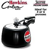 Hawkins Contura Pressure Cooker, Black, HawCB30