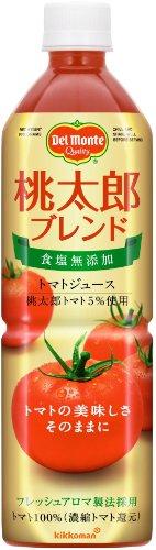 デルモンテ 食塩無添加トマトジュース 桃太郎ブレンド 900g...
