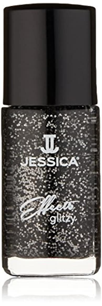 サージ誤解を招く予防接種Jessica Effects Nail Lacquer - Bling in Black - 15ml / 0.5oz