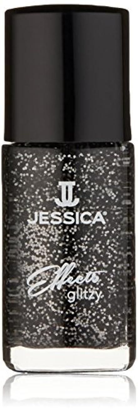衝突する激しい里親Jessica Effects Nail Lacquer - Bling in Black - 15ml/0.5oz