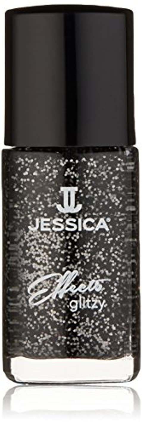 刺繍必須秘書Jessica Effects Nail Lacquer - Bling in Black - 15ml/0.5oz