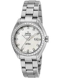 [オメガ]OMEGA 腕時計 シーマスター アクアテラ ホワイトパール文字盤 コーアクシャル自動巻 231.15.34.20.55.001 レディース 【並行輸入品】