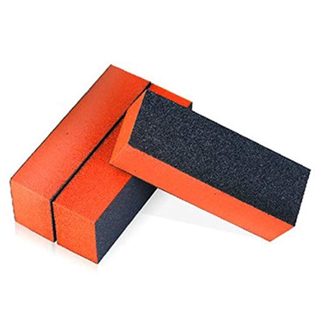 視聴者とまり木とんでもない10は、スポンジ材バッファネイルパッケージの3辺にプロのネイルを設定します