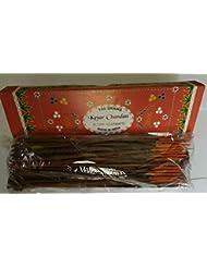 Kesar Chandan (Saffron Sandal) サフラン サンダル Agarbatti Incense Sticks 線香 100 grams Flora Incense フローラ線香