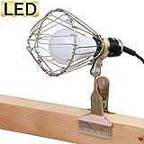 アイリスオーヤマ LED ワークライト広配光 屋内用 クリップ 1600lm ILW-165GC3