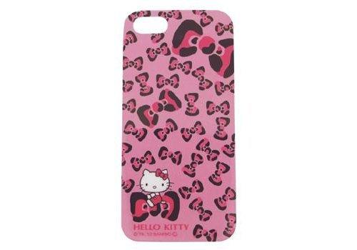 ハローキティ バックカバー iDress for iPhone5 レオパードリボン / iP5-KT3