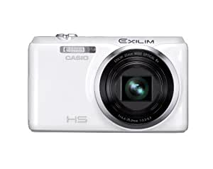 CASIO デジタルカメラ EXILIM EX-ZR20 ホワイト EX-ZR20WE